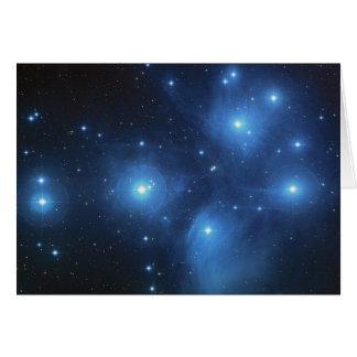 Pleiades Grußkarte