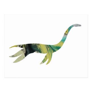 plesiosaur Skelett Postkarten