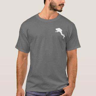 Plongeur drôle d'humour de plongée à l'air t-shirt