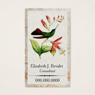 Plumeleteer Kolibri-Visitenkarten Visitenkarte