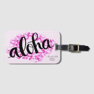 Plumeria-Leu-Aloha Gepäckanhänger Kofferanhänger