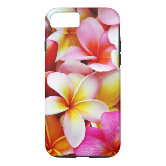 Plumeriafrangipani-Hawaii-Blume besonders iPhone 8/7 Hülle