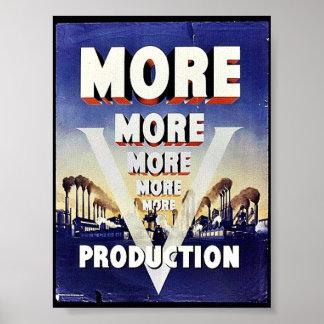 Plus de plus plus de production poster