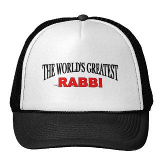 Plus grand Rabbin du monde Casquettes De Camionneur