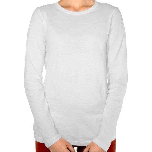 """""""Plus la taille et"""" le long T-shirt fier de douill"""