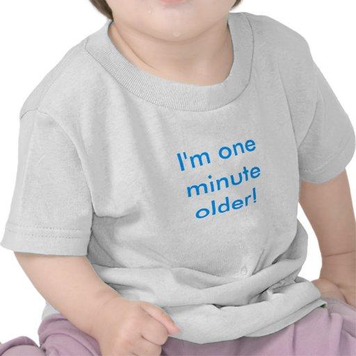 Plus vieux minute du jumeau un de garçon t-shirt