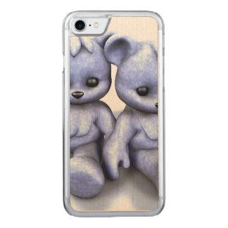 Plushie Blau-Bären Carved iPhone 8/7 Hülle