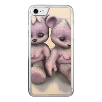 Plushie Rosa-Bären Carved iPhone 8/7 Hülle