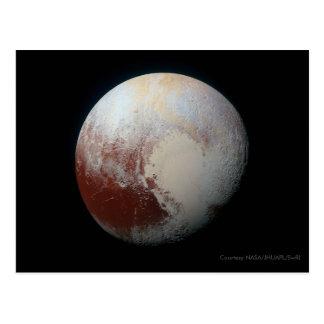 Pluto - die größten zwergartigen postkarte