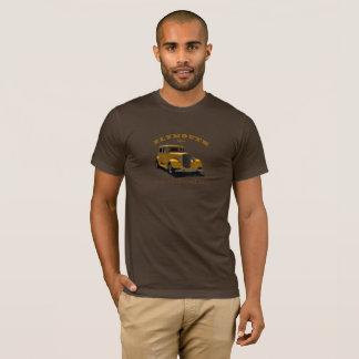 Plymouth-Limousine 1934. Gewohnheit. Alte T-Shirt