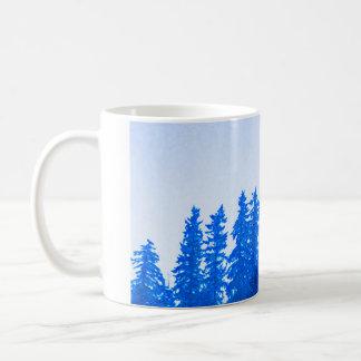 PNW Baum-(blaue) Tasse