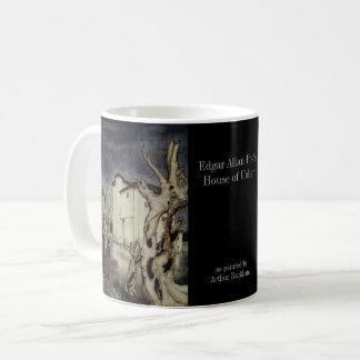 Poe - Haus des Pförtners durch Rackham und Foto Kaffeetasse