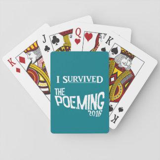 POEMING Spielkarten! Pokerkarten