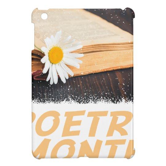Poesie-Monat iPad Mini Schale