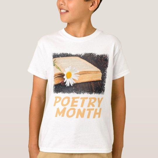 Poesie-Monat T-Shirt