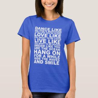 Poetischer Leben-Rat T-Shirt