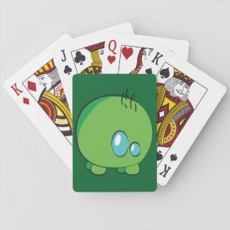 Pogo O.o grüne klassische Spielkarten
