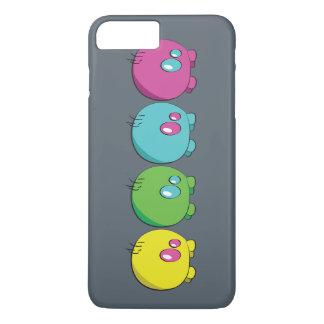 Pogo O.o Mehrfarbentelefon-Kasten iPhone 8 Plus/7 Plus Hülle