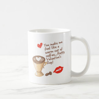 PoHuLocal-Valentinsgruß DruckKeramik-Kaffee-Tasse Kaffeetasse