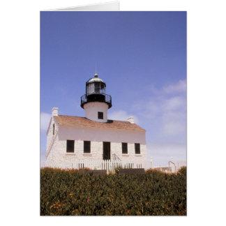 Point Loma-Leuchtturm, San Diego, Kalifornien Karte