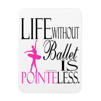 Pointeless Ballett-Magnet Magnet
