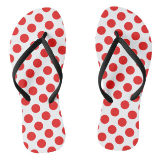 Pois rouge tongs