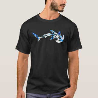 poisson-marteau blanc t-shirt