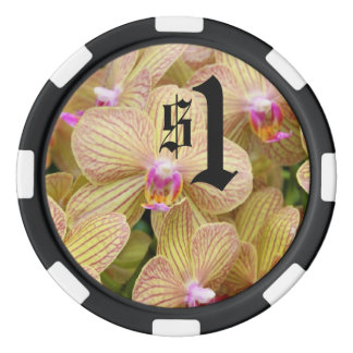 Poker-Chip - Motten-Orchidee Poker Chip Set
