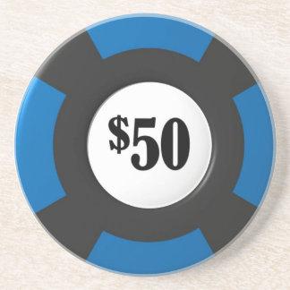 Poker-Chip-Untersetzer Untersetzer