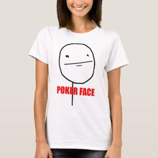 Poker-Gesicht - Damen-angepasster T - Shirt
