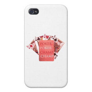 POKER Meister - Sammlung Art101 iPhone 4/4S Cover