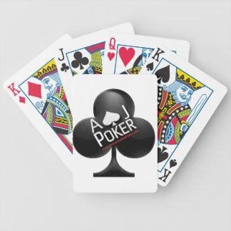 Poker-Spielkarten - Aktions-Junkie-Poker Bicycle Spielkarten