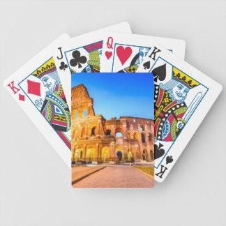 Poker-Spielkarten, Rom Bicycle Spielkarten