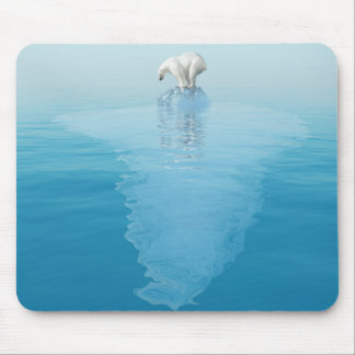 Polar betreffen Sie Eisberg-Mausunterlage Mousepad
