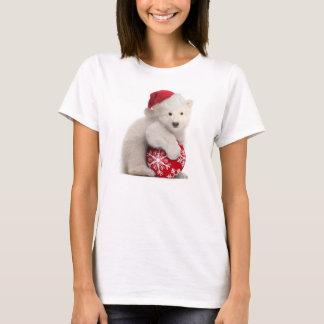 Polarer Bärenjungs-WeihnachtsT - Shirt