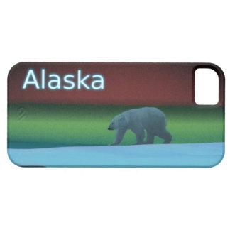Polarlicht-Eisbär iPhone 5 Schutzhülle