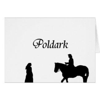 Poldark Grußkarte
