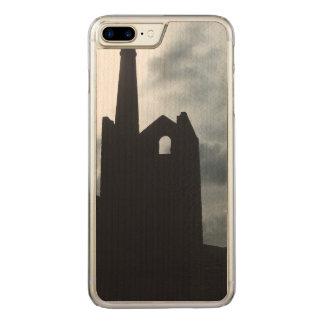 Poldark Land-Bergwerk ruiniert Cornwall England Carved iPhone 7 Plus Hülle