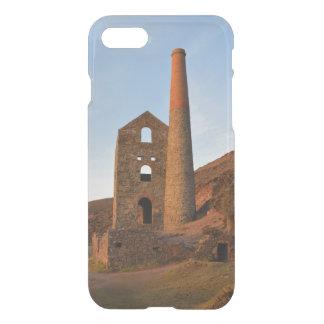 Poldark Land-Bergwerk ruiniert Cornwall England iPhone 8/7 Hülle