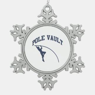Pole Valt Schneeflocken Zinn-Ornament