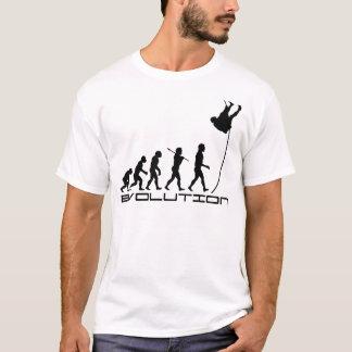 Pole-Wölbungs-Sport-Evolutions-Kunst T-Shirt