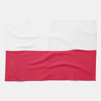 Polen-Flagge Geschirrtuch