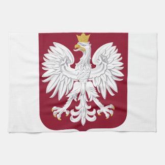 Polen-Wappen Handtuch
