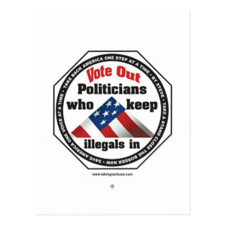 Politiker Postkarte