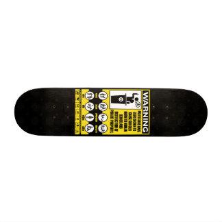 Politiker-warnendes Skateboard Individuelle Skateboards