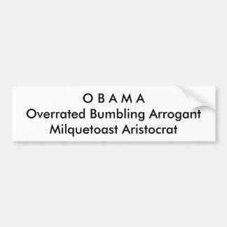 Politisch, Anti-Obama-Autoaufkleber