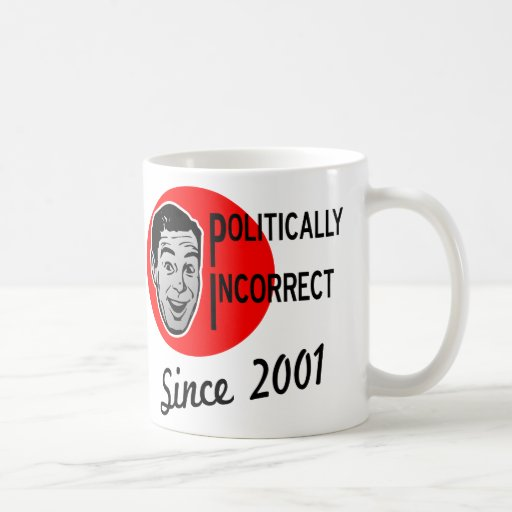Politisch falsch seit 2001 teetassen