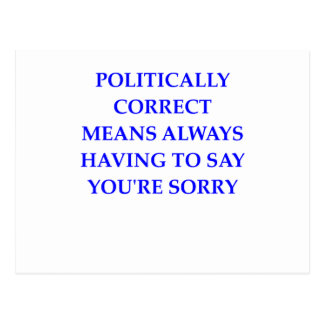 politisch korrekt postkarten