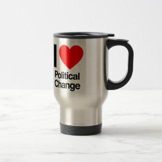 politische Änderung der Liebe I Kaffee Tassen