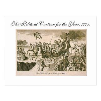 Politische Cartoon-Postkarte Postkarten